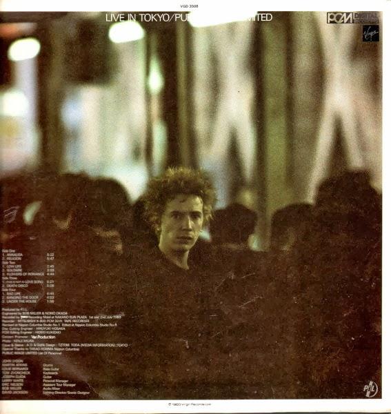 Public Image Limited (P.I.L.) - Live in Tokyo (1983) - 2