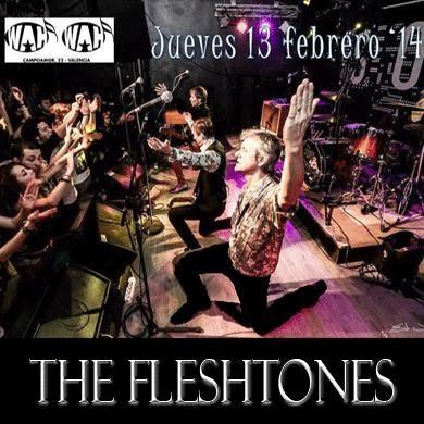 fleshtones concierto 2014 wah wah