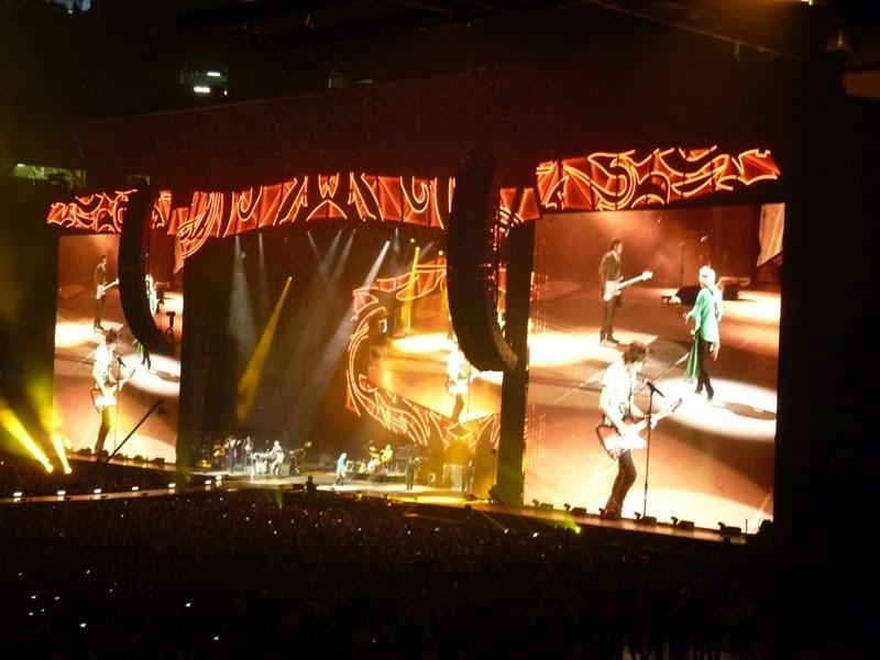 Concierto The Rolling Stones (Estadio Santiago Bernabeu, 25-6-14)