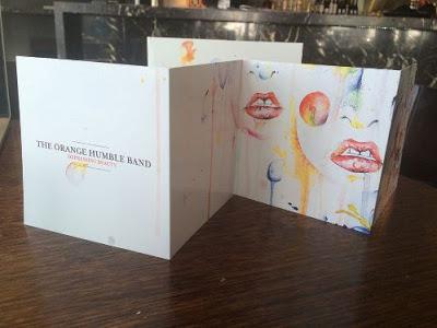 disco ORANGE HUMBLE BAND - Depressing beauty 3