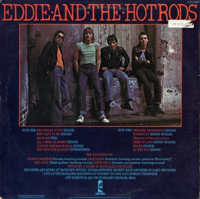 EDDIE & THE HOT RODS - Teenage depression - 2