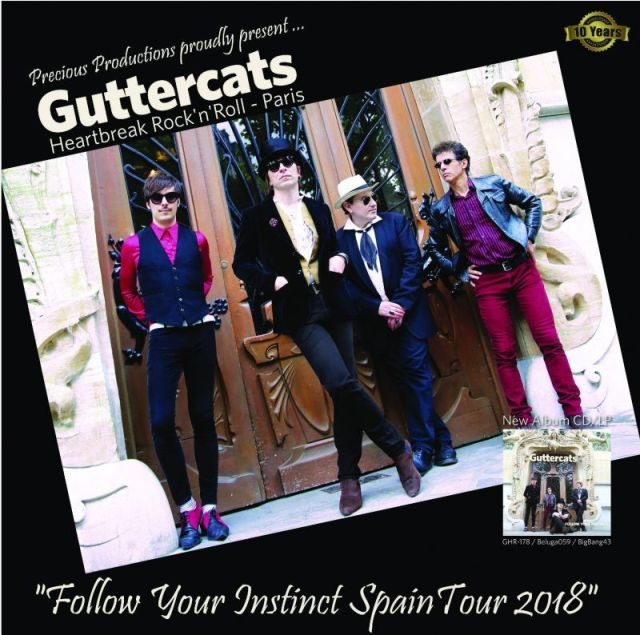 GUTTERCATS Spain Tour 2018