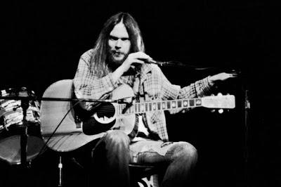 Neil Young en 1976