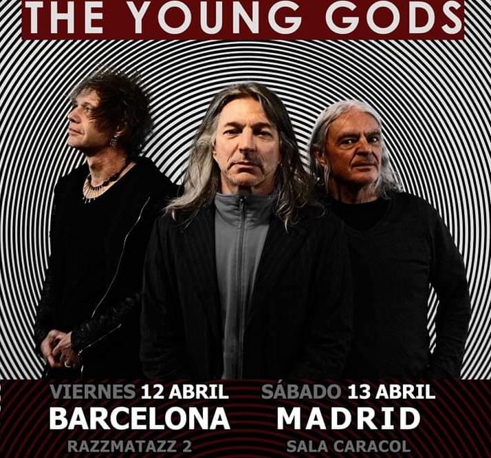 Gira The Young Gods en Barcelona y Madrid
