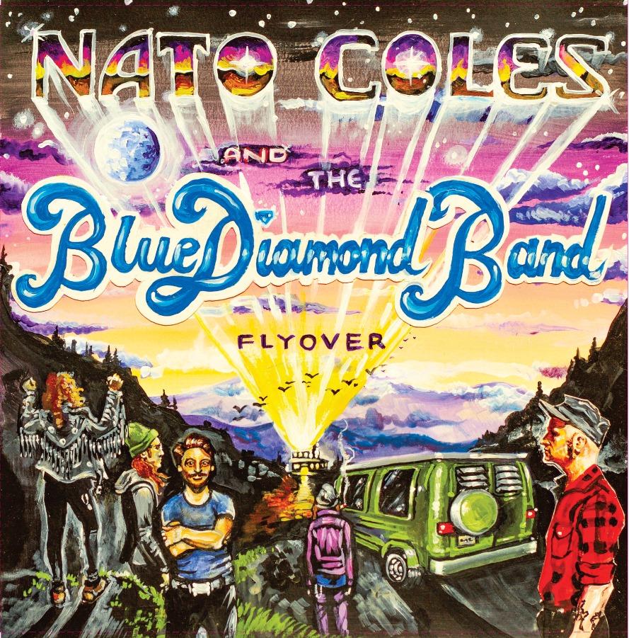 Nato Cole & The Blue Diamond Band - Flyover (2019)