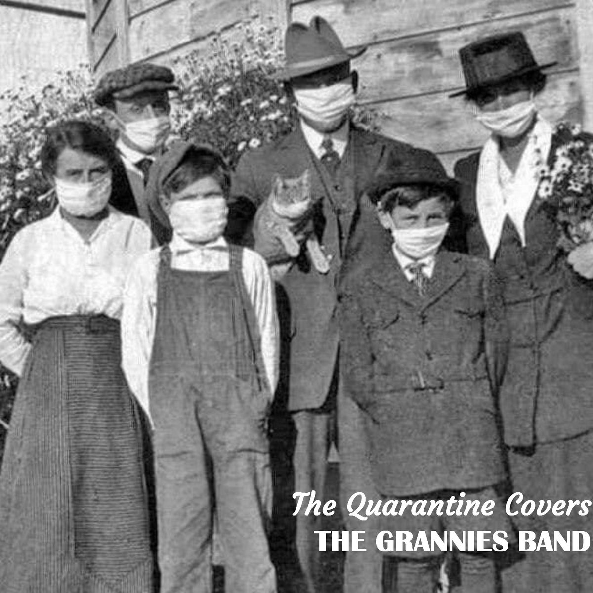 Noticia: 'The Quarantine Covers' es el álbum de versiones de The Grannies Band