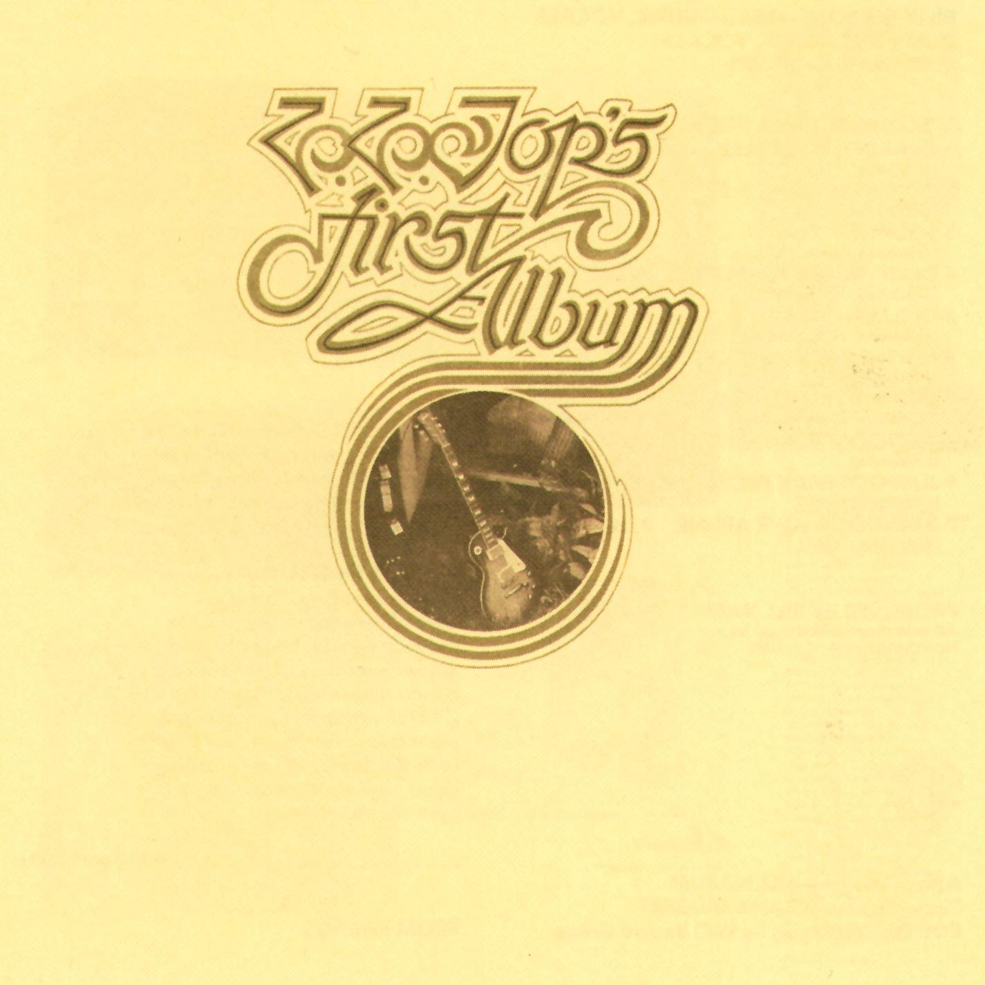 First album. Portada del primer álbum de ZZ Top