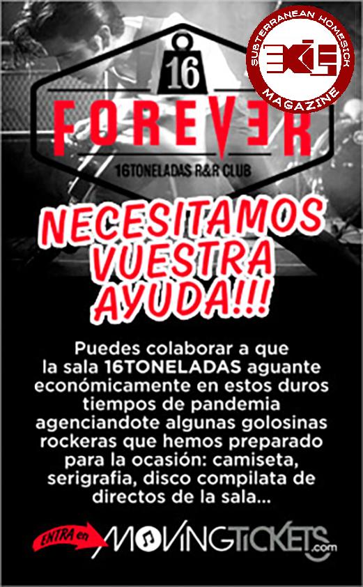 Cartel 16 Toneladas Forever
