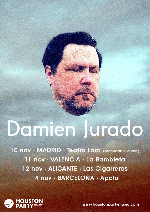 Damien Jurado nuevo disco y gira