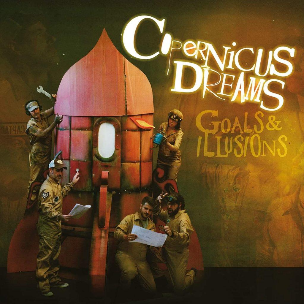 Portada del disco de Copernicus Dreams