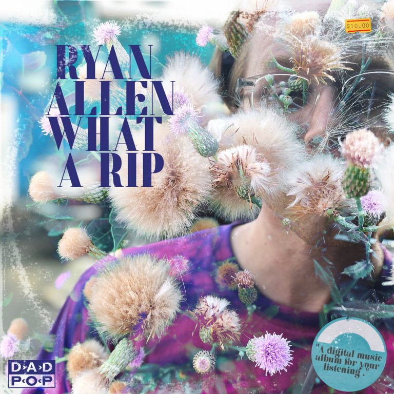 Portada del nuevo diaco de Ryan Allen & His Extra Arms - What a Rip (2021)
