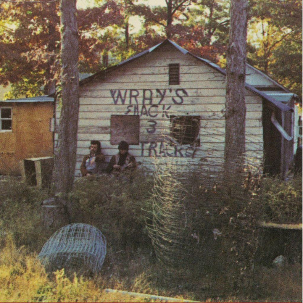 Portada de 3-Track Shack, el disco recopilatorio que edito Ace Records de la etapa de Link Wray a principios de los 70.