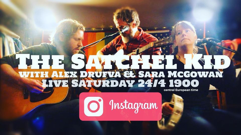 Michael McGowan aka The Satchel Kid estará en concierto online este sábado 24 en Instagram