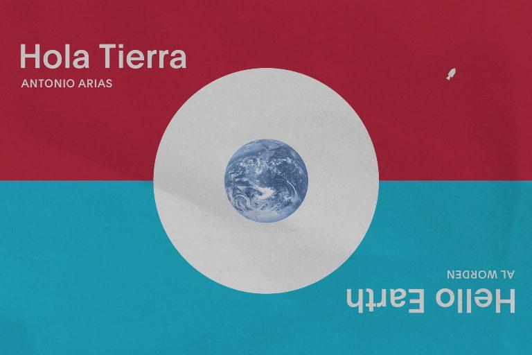 Noticia sobre Antonio Arias. Pedidos anticipados de Hola Tierra / Hello Earth de Alfred Worden'