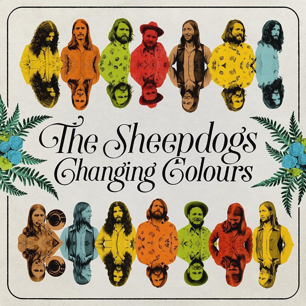 "La banda canadiense, The Sheepdogs, firman un disco descomunal. ""Changing Colours"" está lleno de americanismo, de rocanrol, de esencia setentera. Disco sobresaliente."