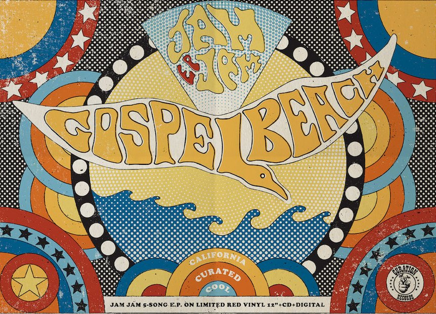 Noticia sobre GospelbeacH y su disco Jam Jam