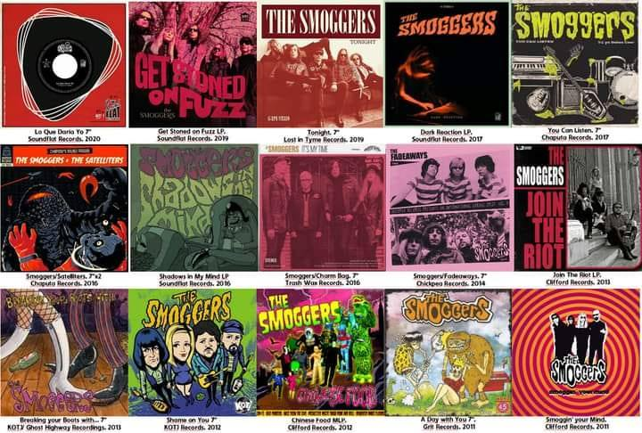 Noticia. 13 years of fuzz insanity recopila material de The Smoggers.