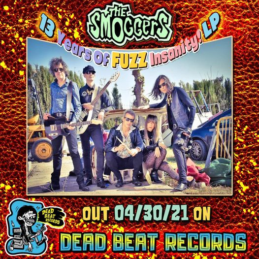 Dead flowers at Hollywood Bowl, tema incluido en el nuevo recopilatorio '13 years of fuzz insanity' de The Smoggers