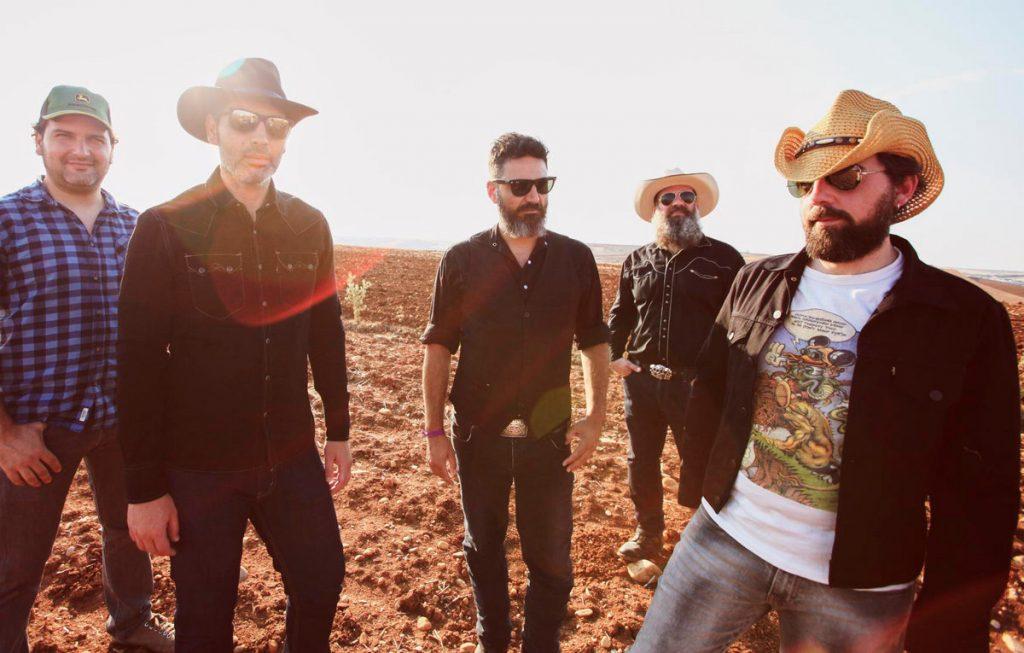 Imagen promocional del álbum Shed skin. The Dirty Browns.