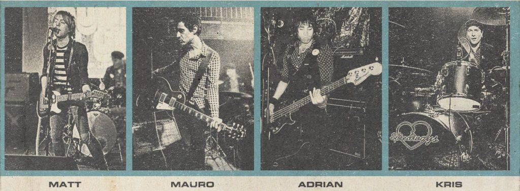 Noticia sobre The Speedways y su versión de Hanoi Rocks.