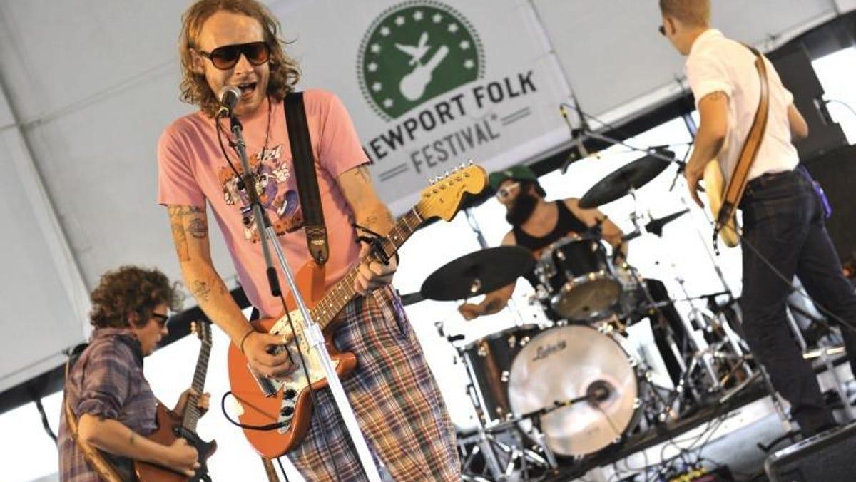 Deer Tick Band Fort Adams