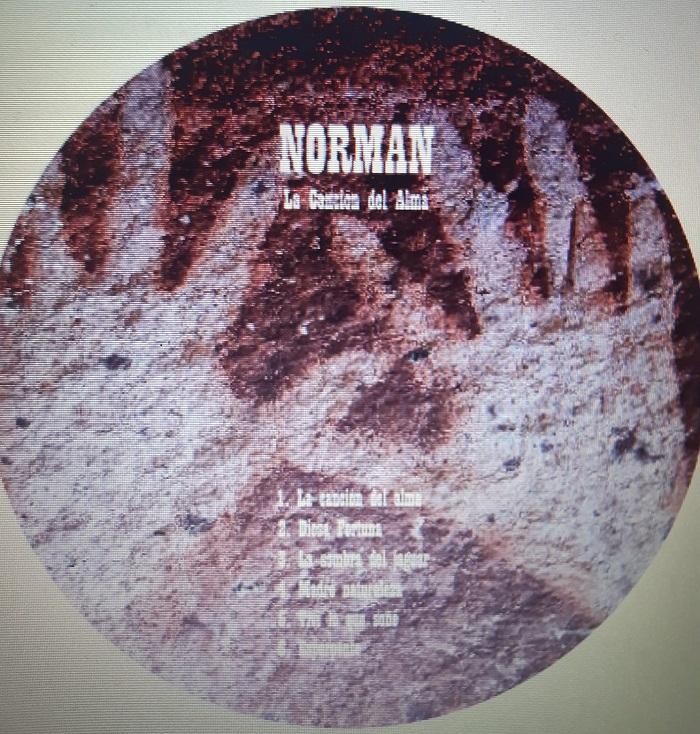 Noticia sobre Norman y su disco 'La canción del alma'.
