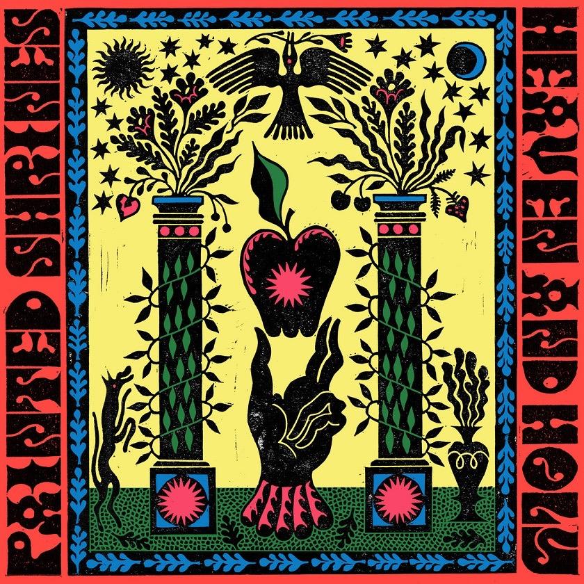 Portada del disco de Painted Shrines - Heaven and Holy (2021)