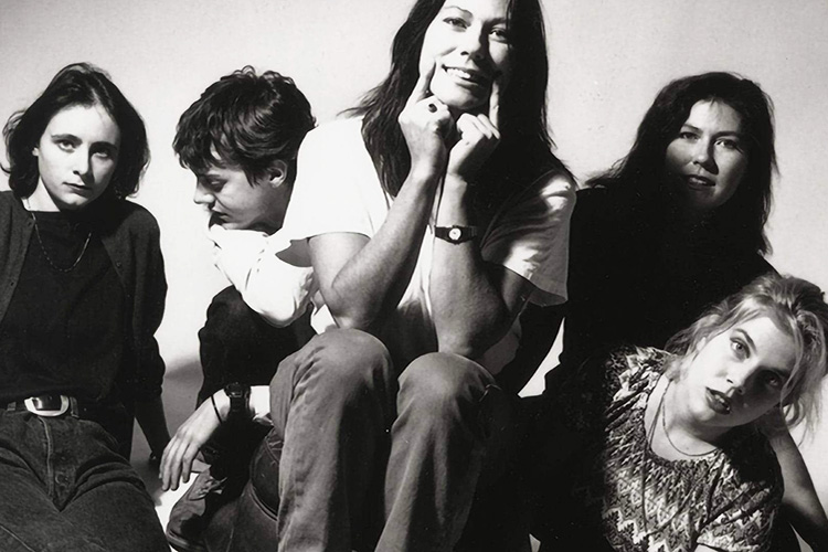 The Breeders, primera formación con Tanya Donelly (Thwoing Muses)