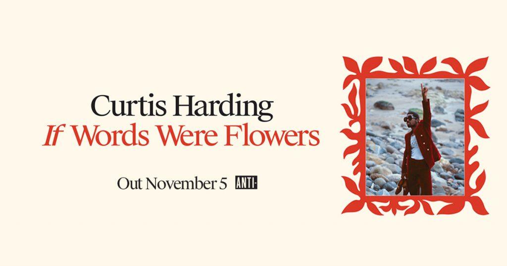 """Curtis Harding publicará su nuevo disco, """"If Words Were Flowers"""", el 6 de Noviembre. """"Cant Hide It"""" es su nuevo y flamante single"""