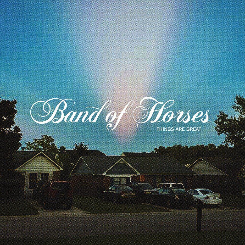 """Noticia sobre el próximo álbum de Band of Horses """"Things are Great"""" y primer single adelanto: Crutch."""
